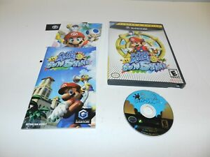 Super-Mario-Sunshine-Nintendo-Gamecube-Game-Complete-CIB-Tested