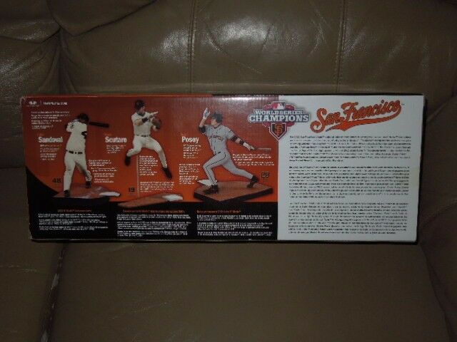 World Series 2012 Giants Box Box Box of Three Figures 939ac2