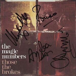 The Magic Numbers  Those the Brokes SIGNED CD Album - Thatcham, Berkshire, United Kingdom - The Magic Numbers  Those the Brokes SIGNED CD Album - Thatcham, Berkshire, United Kingdom