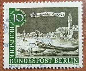 10 Pfg 1962 Waisenbrücke 1783 Deutsche Bundespost Berlin Minr 219
