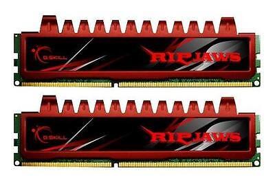 Dual Kit 9-9-9-24 4GB G.Skill DDR3 PC3-12800 RipjawsX Series for Sandy Bridge