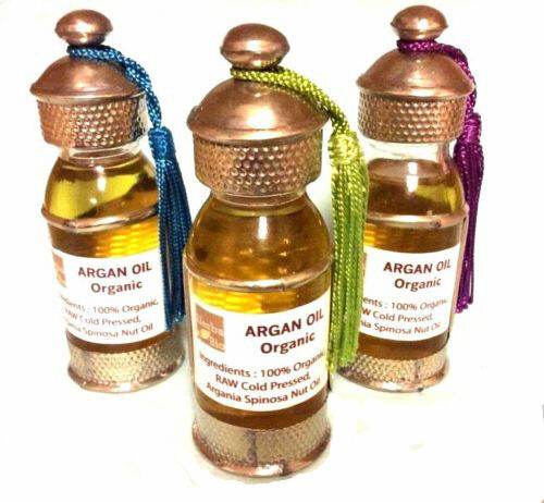Essence of Argan 100% Pure Organic Moroccan Argan Oil Gift Bottle Skin Massage
