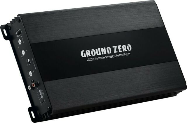 Ground Zero Gzia 1.600HPX-II 600 Vatios RMS Monoblock Amplificador Coche