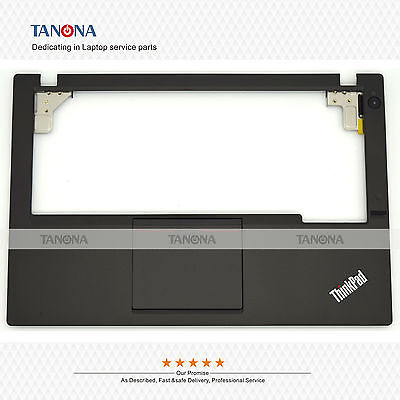 NEW//Orig Lenovo ThinkPad X250 Palmrest keyboard bezel 00HT390 SM20F16543 W//FPR