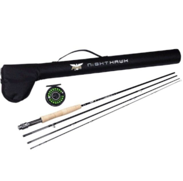 Fenwick Pflueger Nighthawk Fly Kit Nm905 4cbo 9 5wt 4pc For Sale Online Ebay