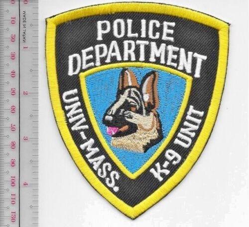 Mass Police Department Canine Unit Officer K-9 Police Massachusetts University