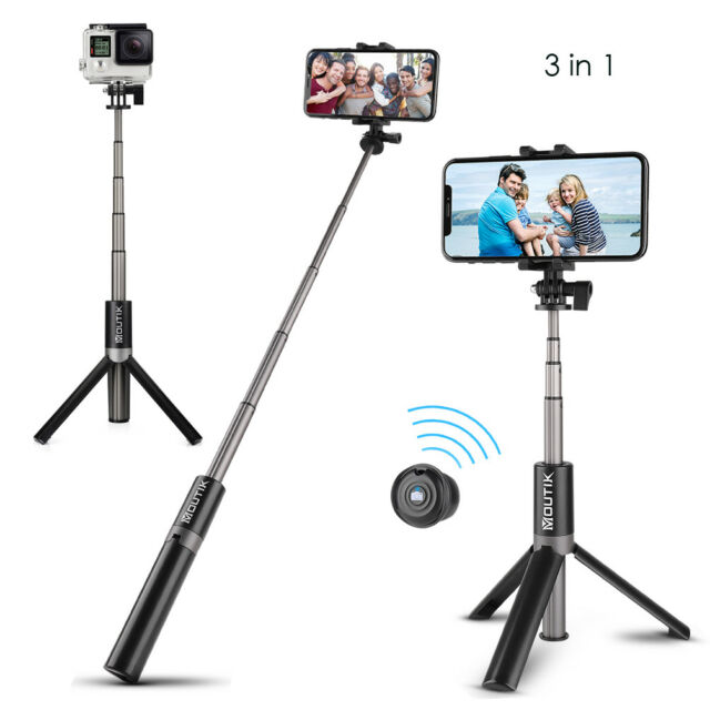 4in1 Selfie Stick Tripod Stand Kit Bluetooth For Iphone Android