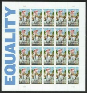 Equality-March-of-Washington-Sheet-of-20-Forever-Stamps-Scott-4804