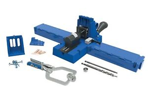 Kreg Jig K5 Pocket Hole Kit Master System Woodwork Joint Clamping Carpentry Tool