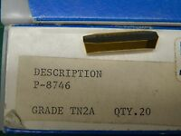 3 Tgi P-8746 Tn2a Carbide Inserts