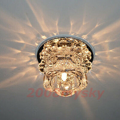 Crystal G4 Lamp bead Ceiling Hallway Light Pendant Lamp Fixture Bulb Chandelier