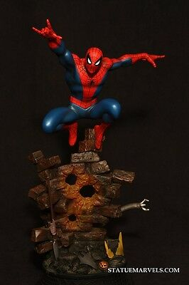 BOWEN DESINGS AMAZING SPIDER-MAN MARVEL EXCLUSIVE STATUE VARIANT TO 50 SIDESHOW