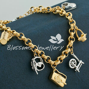 Image Is Loading 18k Multi Gold Gf S Picnic Sports Charm