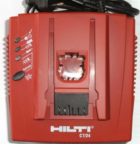 Hilti C 7//24 Ladegerät für Hilti Akkus von 7 Volt bis 24 Volt neu C7//24 C-7-24