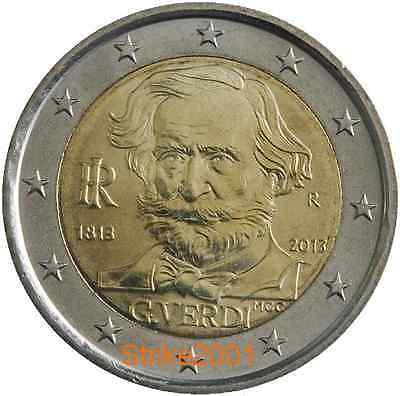 2 EURO COMMEMORATIVO ITALIA 2013 VERDI