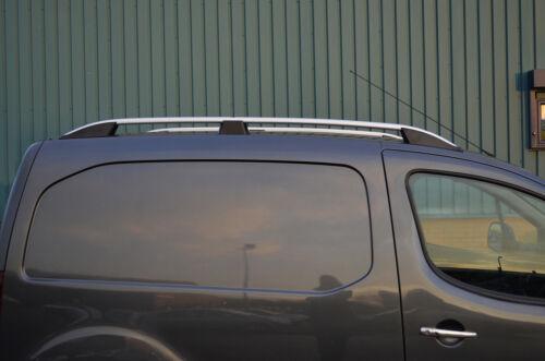 Alu Roof Rack Rails Side Bars Set To Fit Citroen Berlingo SWB 2008+