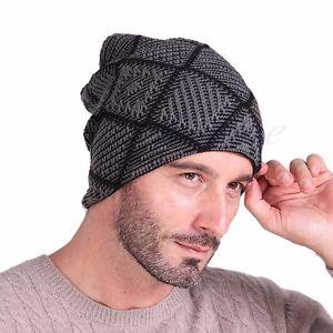 Fashion Women s Men s Winter Warm Unisex Hat Knit Wool Cap Hip-hop ... 5a06ba62521