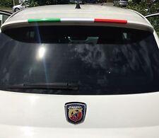 Performance Zier Streifen Aufkleber Folie Flagge Sticker Italien Italy Decor
