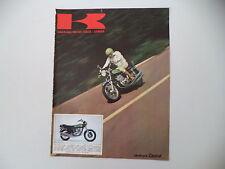 advertising Pubblicità 1974 MOTO KAWASAKI 750 MACH IV H2