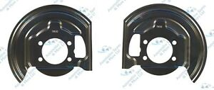 For-Nissan-Qashqai-07-15-2x-Front-Brake-Disc-Dust-Cover-Back-Plate-Shields-Pair