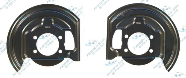 For Nissan Qashqai 07-15 2x Front Brake Disc Dust Cover Back Plate Shields Pair