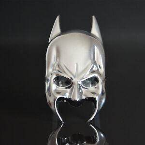 Etiqueta-Engomada-De-Cuerpo-De-Metal-Cromado-Emblema-Batman-Mascara-De-Casco-Tronco-Decorativo-Para