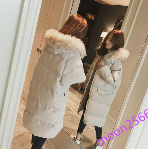 Ny Vinter Knæ Down 2019 Outwear Parka Dame Overcoat Varm Thicken Over Cotton FqwUwp