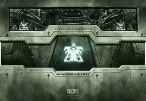 Starcraft-II-2-Wings-of-Liberty-Collectors-Edition-Blizzard-Brandneu-Und-Versiegelt