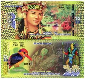 Bank-Equatorial-Territories-Borneo-20-Equatorial-Francs-2014-Polymer-Fantasy