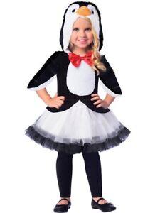 ★ Amscan Süßes Pinguin ,Penguin Tieren Kostüm 98-128 Tierenkostüm Eis-vogel