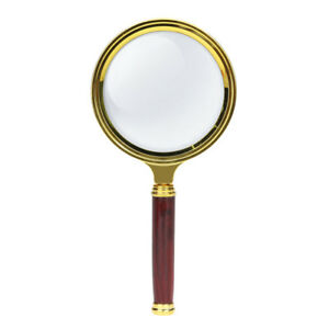 10X-Wood-Handle-Magnifying-Glass-Classic-Handheld-Magnifier-Jewelry-Reading