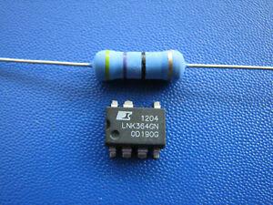 TNY264GN plus Widerstand 47 Ohm 3 Watt