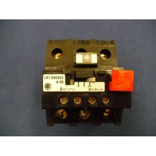 Sobrecarga relé Telemecanique lr1-d80-363-a65 lr1d80363a65
