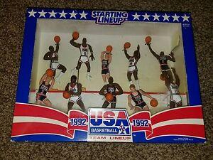 1992 usa olympic dream team starting lineup set