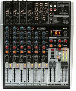 Like-N-E-W-Behringer-Xenyx-X1204USB-Mixer-Authorized-Dealer-Open-Box-Never-Used