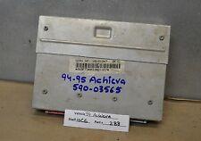 1994-1995 Oldsmobile Achieva Engine Control Unit ECU 16191947 Module 88 10C6