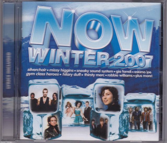 NOW Winter 2007 - Various Artists - CD (Rhino EMI)