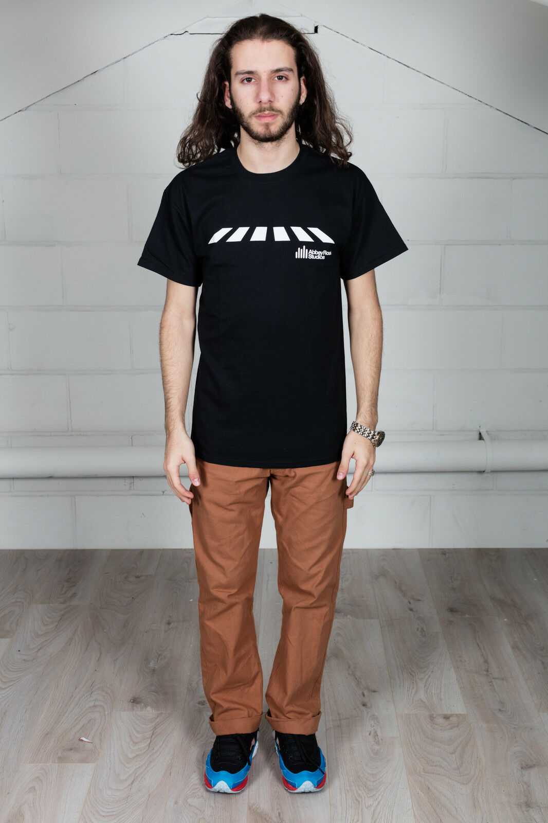 Official Abbey Road Studios Crossing Logo T-Shirt The Beatles Rock Fab Four