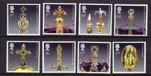 2011 GB CROWN JEWELS MNH Stamp Set SG3207-3214 Unmounted Mint