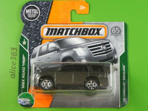 Matchbox 2018 MBX Road Trip 1 ´15 Cadillac Escalade