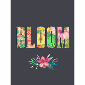 Bloom-Floral-Lettering-Large-Wall-Art-Print-18X24-In