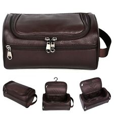 a2357dc7ea item 6 Men Toiletry Travel Bag Shave Kit Leather Organizer Dopp Shaving  Accessory Brown -Men Toiletry Travel Bag Shave Kit Leather Organizer Dopp  Shaving ...