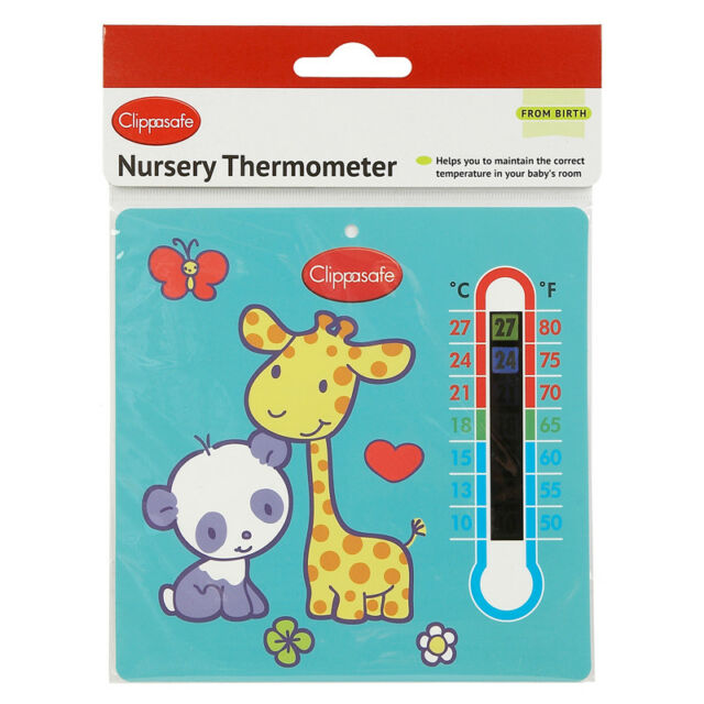 Clippasafe Nursery Thermometer NEW