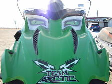 ARCTIC CAT 500 sno pro snopro chassis race sled HEADLIGHT DECAL STICKER 3