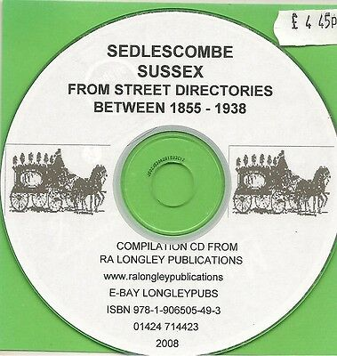 Sussex 1855-1938 Kelly/'s County Directories Pevensey