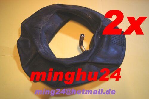 2 x manguera manguera 15x6.00-6 15x600-6 para neumáticos 15x6.00-6 ángulo válvula SP