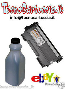 Kit-di-Ricarica-Toner-per-Brother-MFC-7360N-MFC-7360-N-TN-2220-TN-2210-Polvere