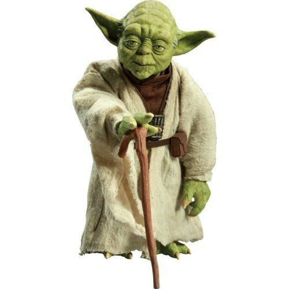 SIDE SHOW 1 6 Scale  Star Star Star Wars  Order Of The Jedi Yoda JAPAN F S S2382 1907d2