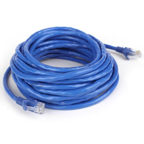 6ft 100ft CAT6 Blue LAN Ethernet UTP Internet Modem Network Cable Patch Lead