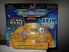 MICRO MACHINES STAR WARS X-RAY FLEET COLLECTION 2
